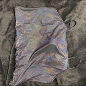 Silver Bodysuit